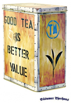 Teedose Tea Chest 1kg