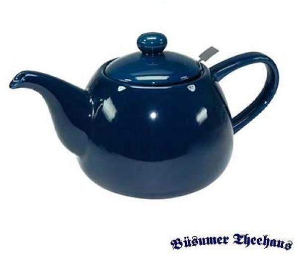 teekanne mit sieb blau 1 8l keramik b sumer theehaus. Black Bedroom Furniture Sets. Home Design Ideas